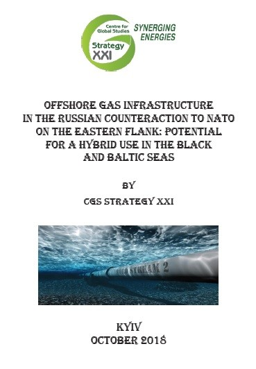 Offhore Gas Infrastructure in the Russian Counteraction to NATO on the East Flank: Potential for a Hybrid Use in the Black and Baltic Seas