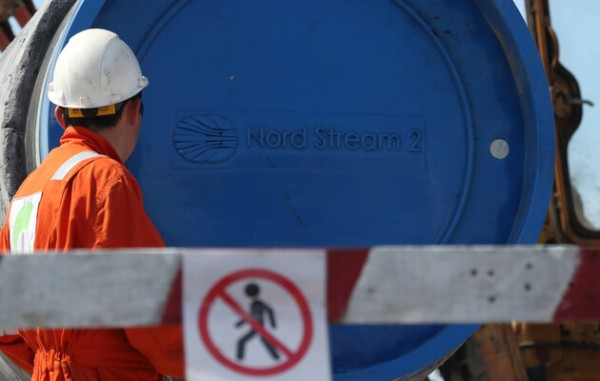 Underwater Flows of the Nord Stream 2 Project